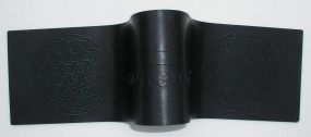 Schungit-Pad 40x10 cm mit integrierter