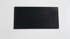 Schungit-Pad 20x10 cm mit integrierter