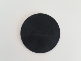 Schungit-Pad Ø 10,4 cm